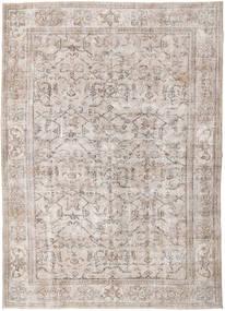 カラード ヴィンテージ 絨毯 214X296 モダン 手織り 薄い灰色/ホワイト/クリーム色 (ウール, トルコ)