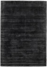 Tribeca - チャコール 絨毯 140X200 モダン 黒/濃いグレー ( インド)