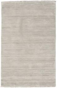 ハンドルーム Fringes - Greige 絨毯 100X160 モダン オリーブ色/薄い灰色 (ウール, インド)