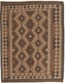 キリム マイマネ 絨毯 148X187 オリエンタル 手織り 茶/濃い茶色 (ウール, アフガニスタン)