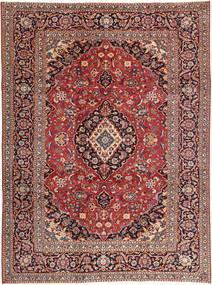 カシャン パティナ 絨毯 242X333 オリエンタル 手織り 深紅色の/薄茶色 (ウール, ペルシャ/イラン)
