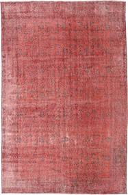 カラード ヴィンテージ 絨毯 186X288 モダン 手織り 錆色/深紅色の (ウール, トルコ)