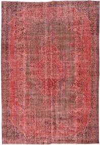 カラード ヴィンテージ 絨毯 184X272 モダン 手織り 錆色/深紅色の (ウール, トルコ)