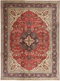 タブリーズ 絨毯 253X343 オリエンタル 手織り 濃い茶色/茶 大きな (ウール, ペルシャ/イラン)