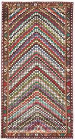 バクティアリ パティナ 絨毯 100X198 オリエンタル 手織り ベージュ/濃い茶色 (ウール, ペルシャ/イラン)