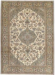 カシャン パティナ 絨毯 230X325 オリエンタル 手織り 薄い灰色/薄茶色 (ウール, ペルシャ/イラン)