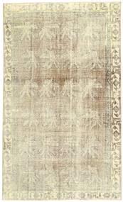 カラード ヴィンテージ 絨毯 180X305 モダン 手織り 暗めのベージュ色の/ベージュ (ウール, ペルシャ/イラン)