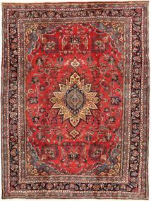 ハマダン シャフバフ パティナ 絨毯 220X300 オリエンタル 手織り 深紅色の/濃い茶色 (ウール, ペルシャ/イラン)