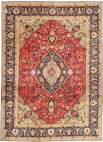タブリーズ 絨毯 246X338 オリエンタル 手織り 深紅色の/濃い茶色 (ウール, ペルシャ/イラン)