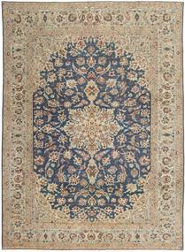 ナジャファバード パティナ 絨毯 270X373 オリエンタル 手織り 薄い灰色/濃いグレー 大きな (ウール, ペルシャ/イラン)
