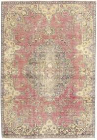 カラード ヴィンテージ 絨毯 184X264 モダン 手織り ベージュ/薄い灰色 (ウール, ペルシャ/イラン)
