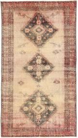 カラード ヴィンテージ 絨毯 108X203 モダン 手織り 薄茶色/茶 (ウール, ペルシャ/イラン)