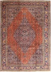 タブリーズ 絨毯 237X345 オリエンタル 手織り 深紅色の/薄茶色 (ウール, ペルシャ/イラン)