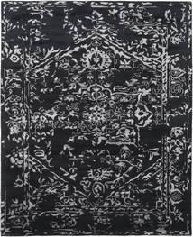 Orient Express - 黒 絨毯 240X300 モダン 手織り 濃いグレー (ウール/バンブーシルク, インド)