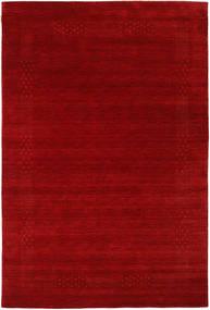 Loribaf ルーム Beta - 赤 絨毯 190X290 モダン 深紅色の/錆色 (ウール, インド)
