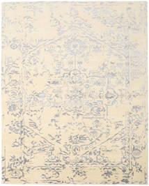 Orient Express - 白/グレー 絨毯 240X300 モダン 手織り ベージュ/薄い灰色 (ウール/バンブーシルク, インド)