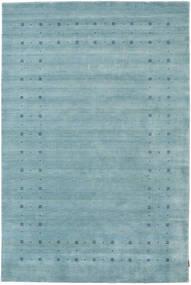 Loribaf ルーム Delta - 水色 絨毯 190X290 モダン 水色/ターコイズ (ウール, インド)