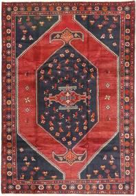 クラルダシュト 絨毯 200X295 オリエンタル 手織り 深紅色の/黒 (ウール, ペルシャ/イラン)