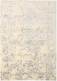 Orient Express - 白/グレー 絨毯 240X340 モダン 手織り ベージュ/薄い灰色 (ウール/バンブーシルク, インド)