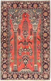アラク 絨毯 125X198 オリエンタル 手織り 深紅色の/濃い茶色 (ウール, ペルシャ/イラン)