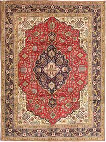 タブリーズ 絨毯 248X340 オリエンタル 手織り 濃い茶色/深紅色の (ウール, ペルシャ/イラン)