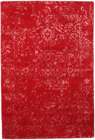 Orient Express - 赤 絨毯 140X200 モダン 手織り 赤 (ウール/バンブーシルク, インド)