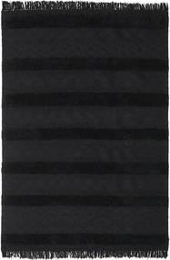 キリム Berber Ibiza - カーボンブラック色 絨毯 300X400 モダン 手織り 黒 大きな (ウール, インド)