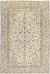 カシャン パティナ 絨毯 229X333 オリエンタル 手織り 薄い灰色/暗めのベージュ色の (ウール, ペルシャ/イラン)