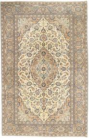 カシャン パティナ 絨毯 190X296 オリエンタル 手織り 薄い灰色/暗めのベージュ色の (ウール, ペルシャ/イラン)
