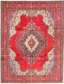 タブリーズ 絨毯 255X334 オリエンタル 手織り 赤/ベージュ 大きな (ウール, ペルシャ/イラン)