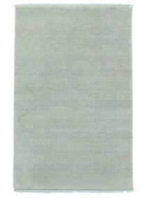 ハンドルーム Fringes - アイスブルー 絨毯 140X200 モダン 水色 (ウール, インド)