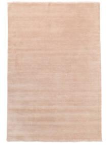 ハンドルーム Fringes - ディープラスト 絨毯 200X300 モダン ライトピンク/ベージュ (ウール, インド)