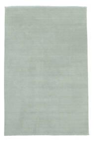 ハンドルーム Fringes - アイスブルー 絨毯 200X300 モダン 水色 (ウール, インド)
