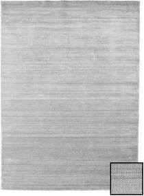 Bamboo Grass - グレー 絨毯 210X290 モダン 薄い灰色 (ウール/バンブーシルク, トルコ)