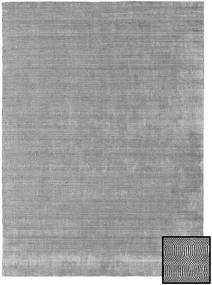 Bamboo Grass - Black_ グレー 絨毯 210X290 モダン 薄い灰色 (ウール/バンブーシルク, トルコ)