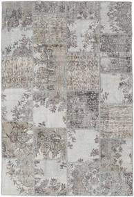 パッチワーク 絨毯 157X234 モダン 手織り 薄い灰色 (ウール, トルコ)