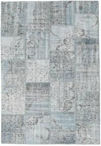 パッチワーク 絨毯 160X230 モダン 手織り 薄い灰色 (ウール, トルコ)