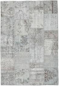 パッチワーク 絨毯 159X234 モダン 手織り 薄い灰色/ターコイズブルー (ウール, トルコ)
