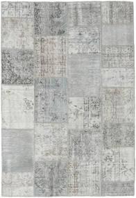 パッチワーク 絨毯 158X231 モダン 手織り 薄い灰色/ターコイズブルー (ウール, トルコ)