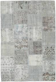 パッチワーク 絨毯 157X230 モダン 手織り 薄い灰色/ターコイズブルー (ウール, トルコ)