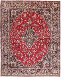 マシュハド 絨毯 293X380 オリエンタル 手織り 濃い茶色/赤 大きな (ウール, ペルシャ/イラン)
