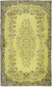 カラード ヴィンテージ 絨毯 182X301 モダン 手織り 黄色/オリーブ色 (ウール, トルコ)