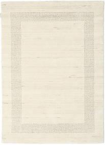 ハンドルーム Gabba - ナチュラル 絨毯 140X200 モダン ベージュ (ウール, インド)