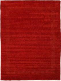 ハンドルーム Gabba - 錆色 絨毯 210X290 モダン 錆色/深紅色の (ウール, インド)