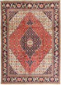 タブリーズ 絨毯 240X330 オリエンタル 手織り 薄茶色/錆色 (ウール, ペルシャ/イラン)