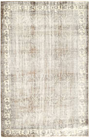 カラード ヴィンテージ 絨毯 200X305 モダン 手織り 薄い灰色/暗めのベージュ色の/ベージュ (ウール, ペルシャ/イラン)