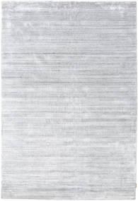 Bamboo シルク ルーム - グレー 絨毯 200X300 モダン ホワイト/クリーム色/薄い灰色 ( インド)