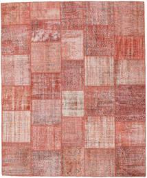 パッチワーク 絨毯 251X303 モダン 手織り ライトピンク/錆色 大きな (ウール, トルコ)