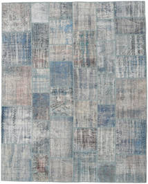パッチワーク 絨毯 243X302 モダン 手織り 薄い灰色/ライトグリーン (ウール, トルコ)
