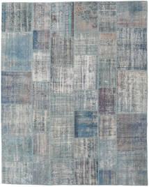 パッチワーク 絨毯 245X302 モダン 手織り 薄い灰色/青 (ウール, トルコ)